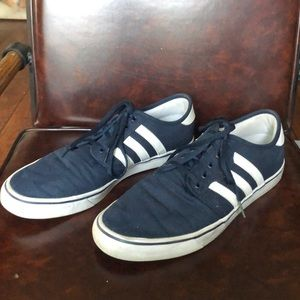 Blue size 13 Men's adidas skate sneakers